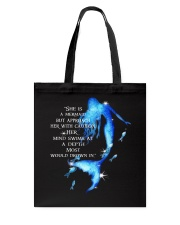 She Is A Mermaid Tote Bag thumbnail