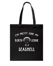 Mermaid-Stone Is A Seashell Tote Bag thumbnail