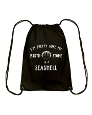 Mermaid-Stone Is A Seashell Drawstring Bag thumbnail