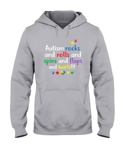 Autism Rocks And Rolls