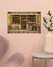 Into The Bookstore I Go 17x11 Poster poster-landscape-17x11-lifestyle-22