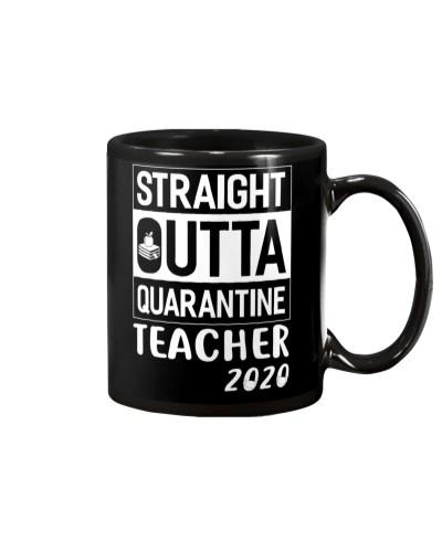 Temp Straight Outta Quarantine Teacher