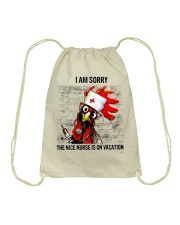 Nurse I Am Sorry Drawstring Bag tile