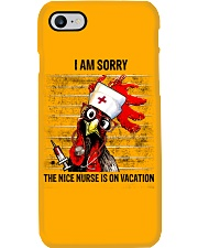 Nurse I Am Sorry Phone Case tile
