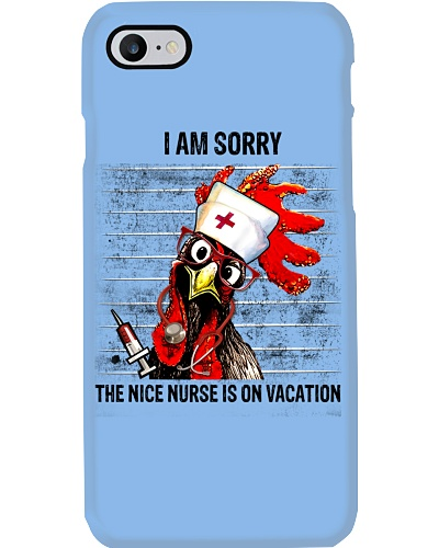 Nurse I Am Sorry