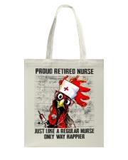 Nurse Proud Retired Nurse Tote Bag thumbnail