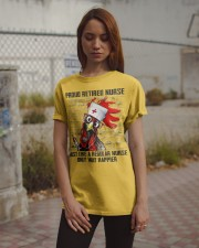 Nurse Proud Retired Nurse Classic T-Shirt apparel-classic-tshirt-lifestyle-18