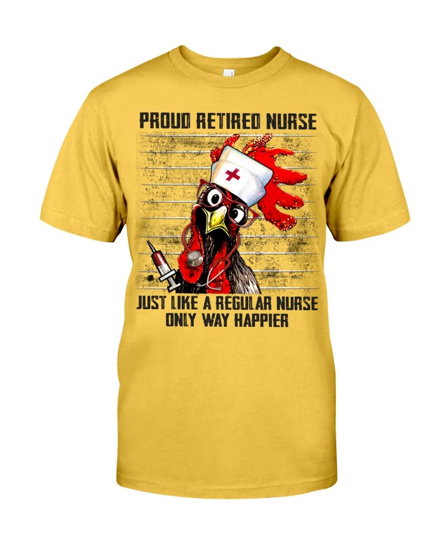 Nurse Proud Retired Nurse Classic T-Shirt