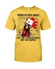 Nurse Proud Retired Nurse Classic T-Shirt front