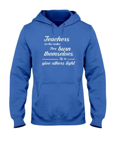 Teachers Are Like Candles