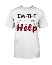 Wine I'm The Help Classic T-Shirt thumbnail