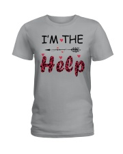 Wine I'm The Help Ladies T-Shirt thumbnail