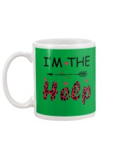 Wine I'm The Help Mug back
