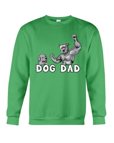 Pitbull Cool Powerful Dog Dad