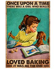 BAKING ONCE UPON A GIRL LOVED BAKING 3 11x17 Poster front