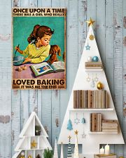 BAKING ONCE UPON A GIRL LOVED BAKING 3 11x17 Poster lifestyle-holiday-poster-2