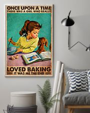 BAKING ONCE UPON A GIRL LOVED BAKING 3 11x17 Poster lifestyle-poster-1