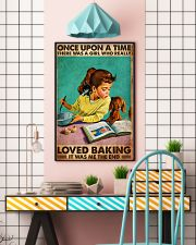 BAKING ONCE UPON A GIRL LOVED BAKING 3 11x17 Poster lifestyle-poster-6
