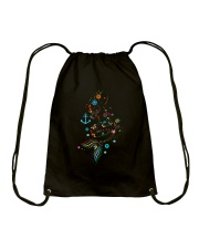 Mermaid Beauty Drawstring Bag thumbnail