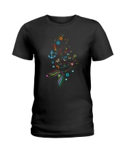 Mermaid Beauty Ladies T-Shirt thumbnail
