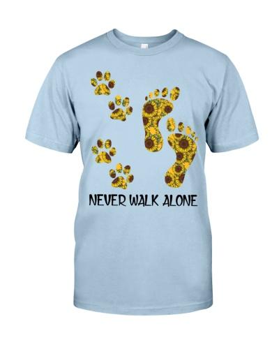 Dog Never Walk Alone Pattern