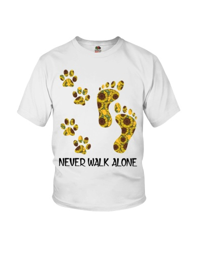 Dog Never Walk Alone Pattern
