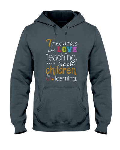 Teacher Love Teaching