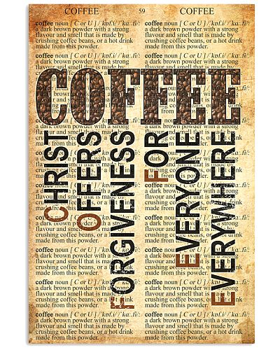 Coffee I Am A Simple Woman Coffee Poster
