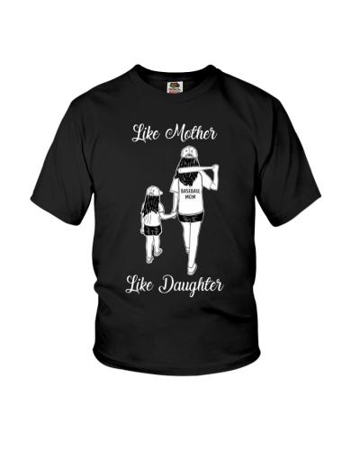 Baseball Like Mother Like Daughter