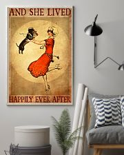 Dachshund And She Lived Happily Ever After Poster 11x17 Poster lifestyle-poster-1