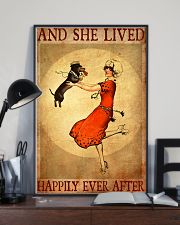 Dachshund And She Lived Happily Ever After Poster 11x17 Poster lifestyle-poster-2