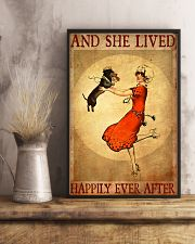 Dachshund And She Lived Happily Ever After Poster 11x17 Poster lifestyle-poster-3