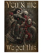 COUPLE YOU AND ME WE GOT THIS 11x17 Poster front