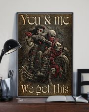 COUPLE YOU AND ME WE GOT THIS 11x17 Poster lifestyle-poster-2
