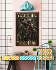 COUPLE YOU AND ME WE GOT THIS 11x17 Poster lifestyle-poster-6