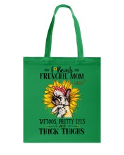 French Bulldog Mom F-bomb Tote Bag thumbnail