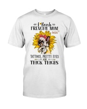 French Bulldog Mom F-bomb Classic T-Shirt thumbnail