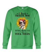 French Bulldog Mom F-bomb Crewneck Sweatshirt thumbnail
