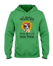 French Bulldog Mom F-bomb Hooded Sweatshirt thumbnail