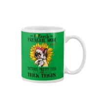 French Bulldog Mom F-bomb Mug thumbnail