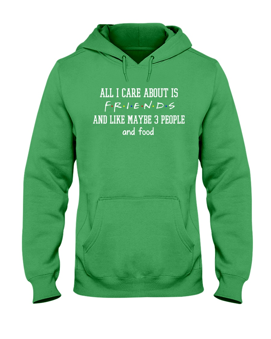 FR- All I care about Hooded Sweatshirt