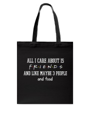 FR- All I care about Tote Bag thumbnail