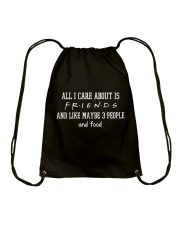 FR- All I care about Drawstring Bag thumbnail