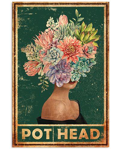 Garden Succulent Girl Pot Head