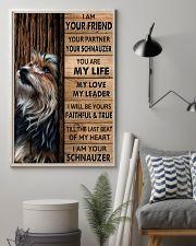 SCHNAUZER I AM YOUR SCHNAUZER  11x17 Poster lifestyle-poster-1