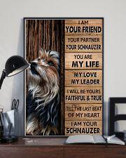 SCHNAUZER I AM YOUR SCHNAUZER  11x17 Poster lifestyle-poster-2