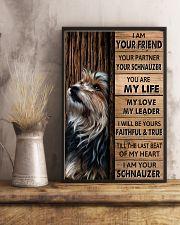 SCHNAUZER I AM YOUR SCHNAUZER  11x17 Poster lifestyle-poster-3