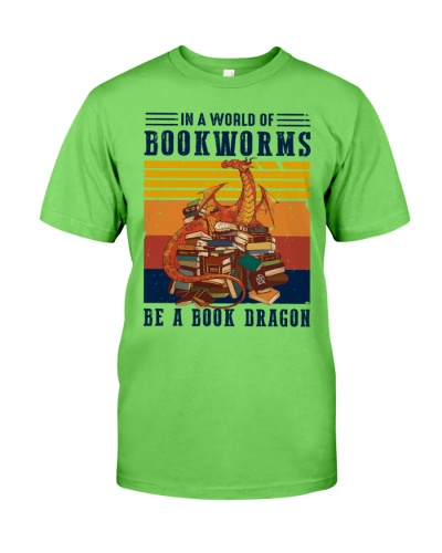 Book Be A Book Dragon Vintage