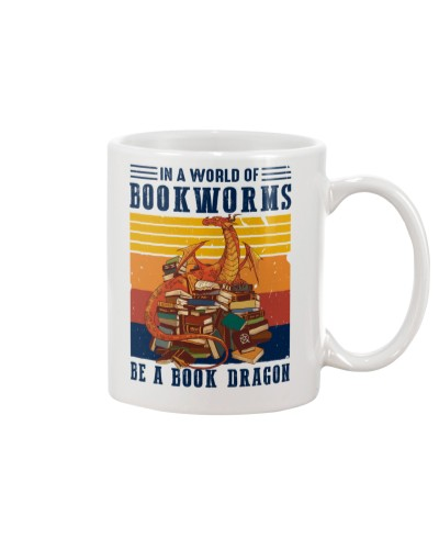 Book Be A Book Dragon Vintage