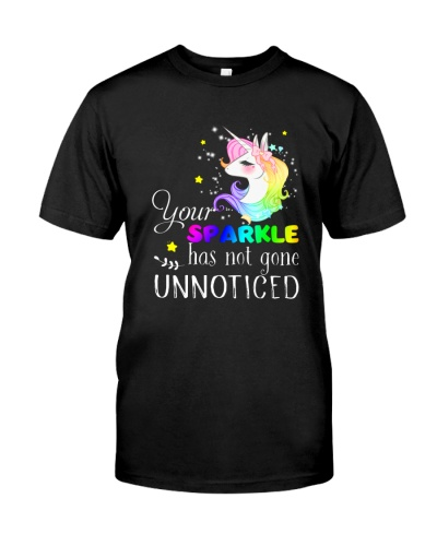 Unicorn Sparkle Notice